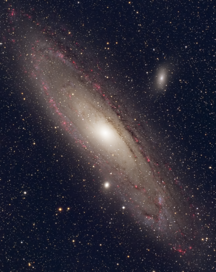 M31 in Narrowband for Stars