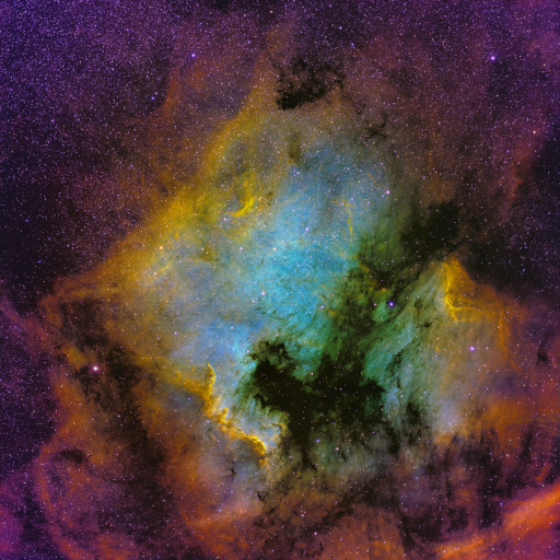 North American Nebula in NHO